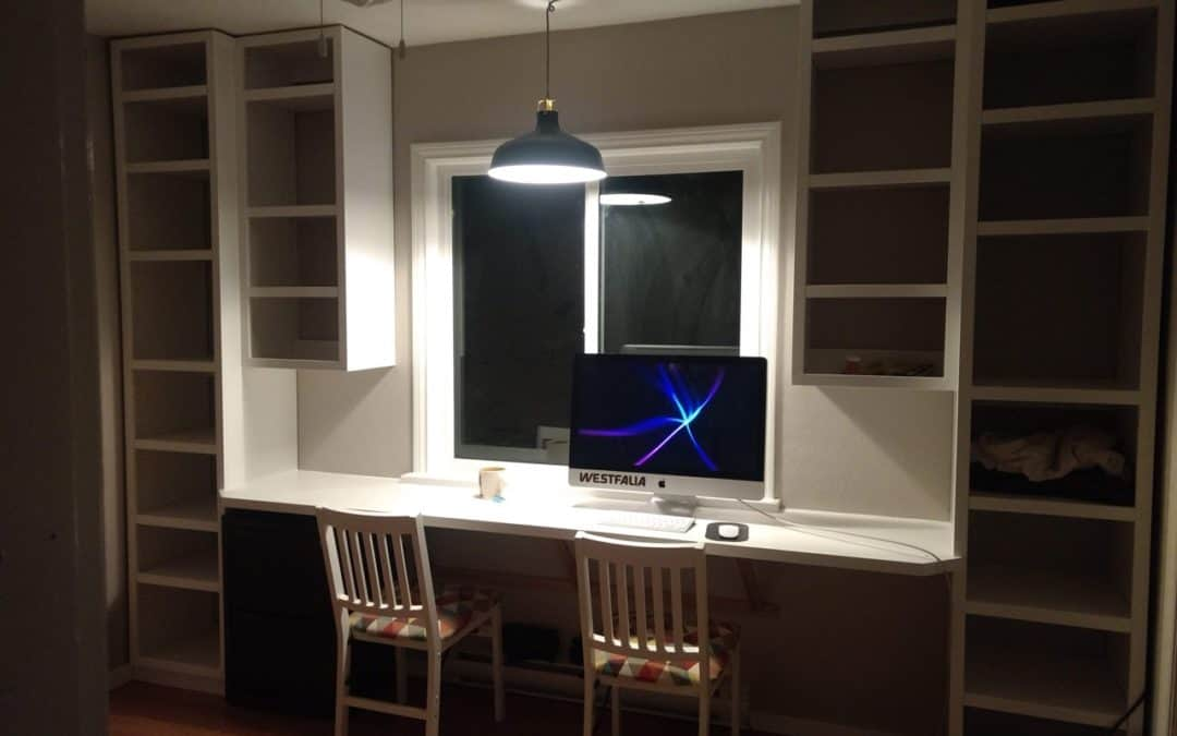Snow Day Project | Home Office Renovation